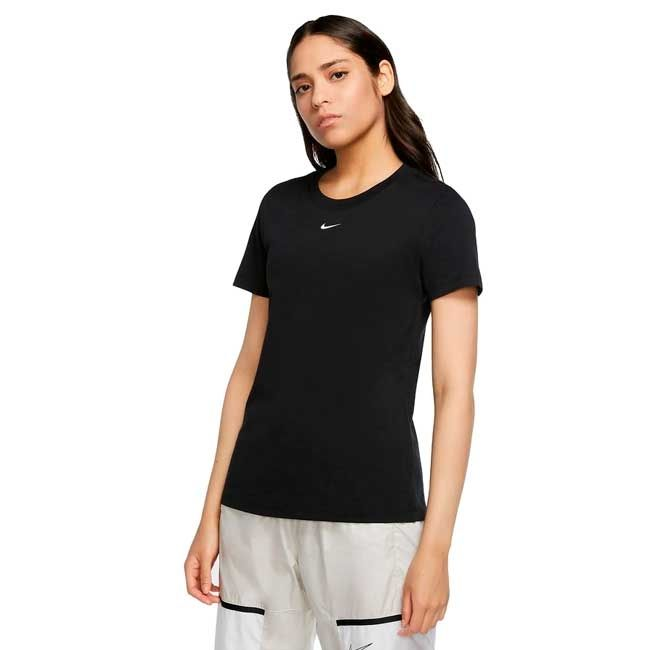 Nike T-Shirt Sportswear Essential Donna Nero