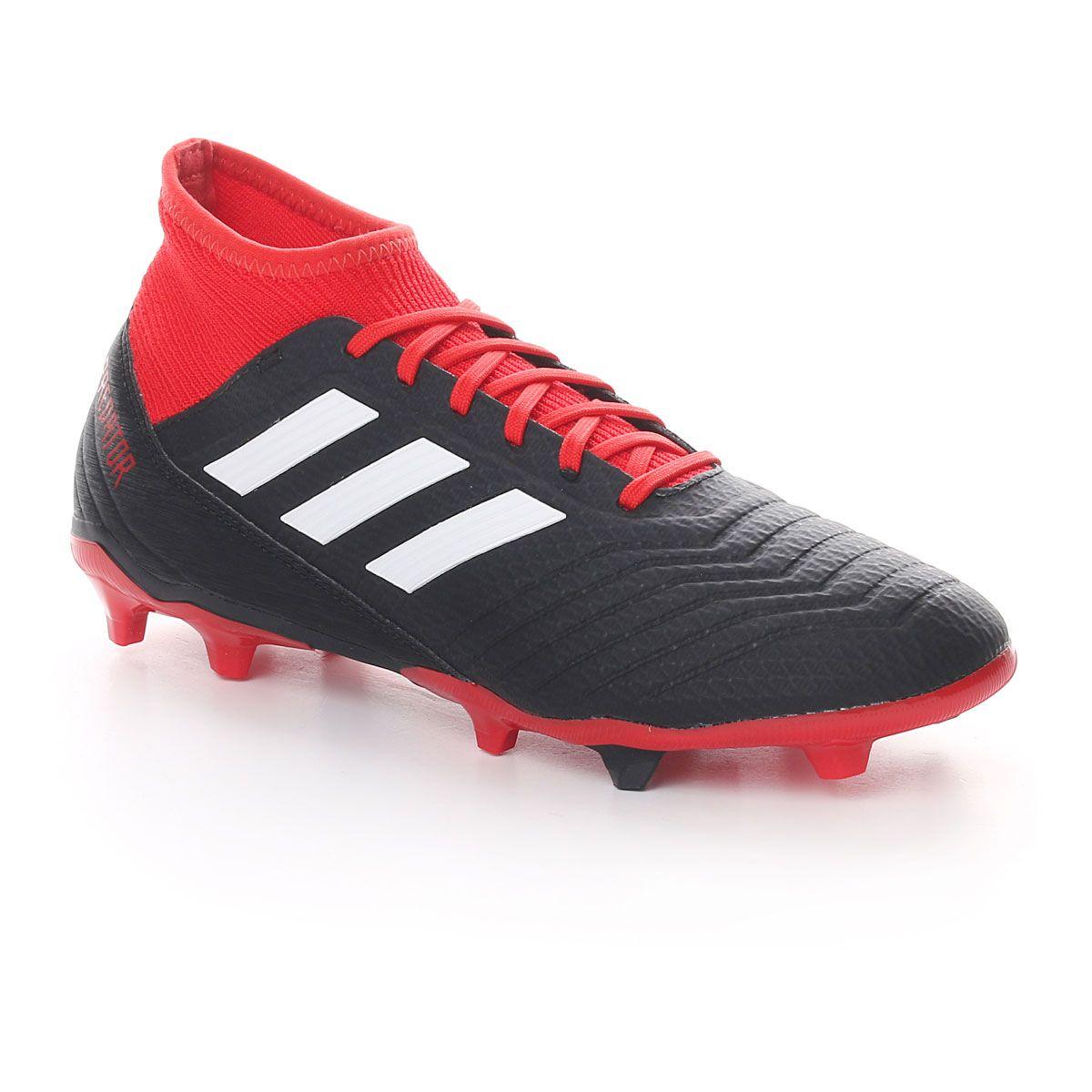 adidas Predator 18.3 Fg Black Red