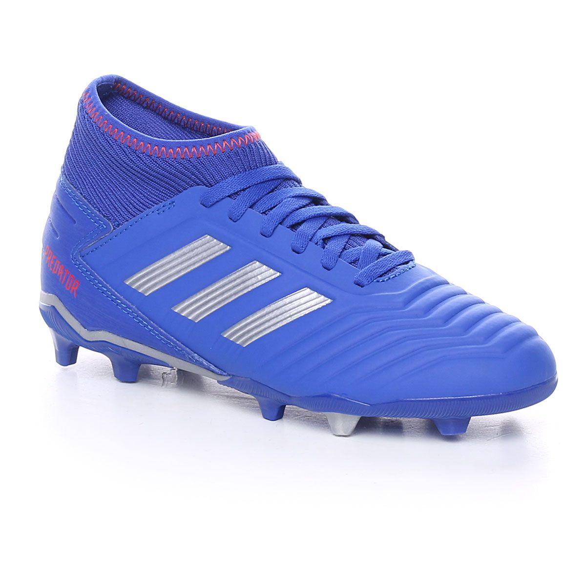 adidas Predator 19.3 Fg J Bold Blue