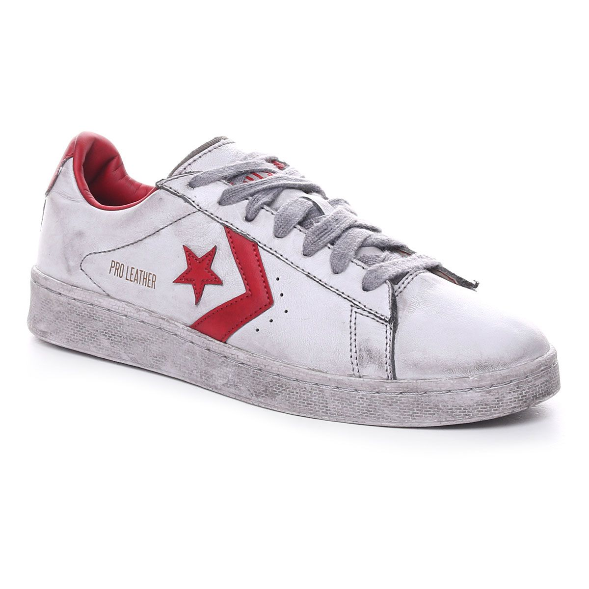 Converse Pro Leather Og Limited Uomo Bianco Rosso