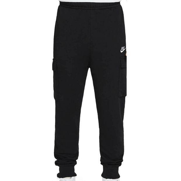 Nike Pantaloni Jogger Club Cargo Uomo Nero