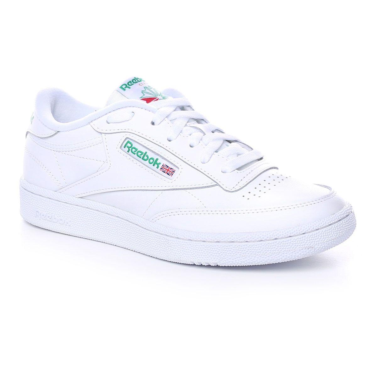Reebok Club C 85 Uomo Bianco Verde