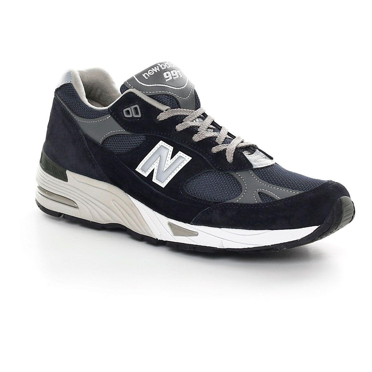 New Balance 991 Blue Navy Grey