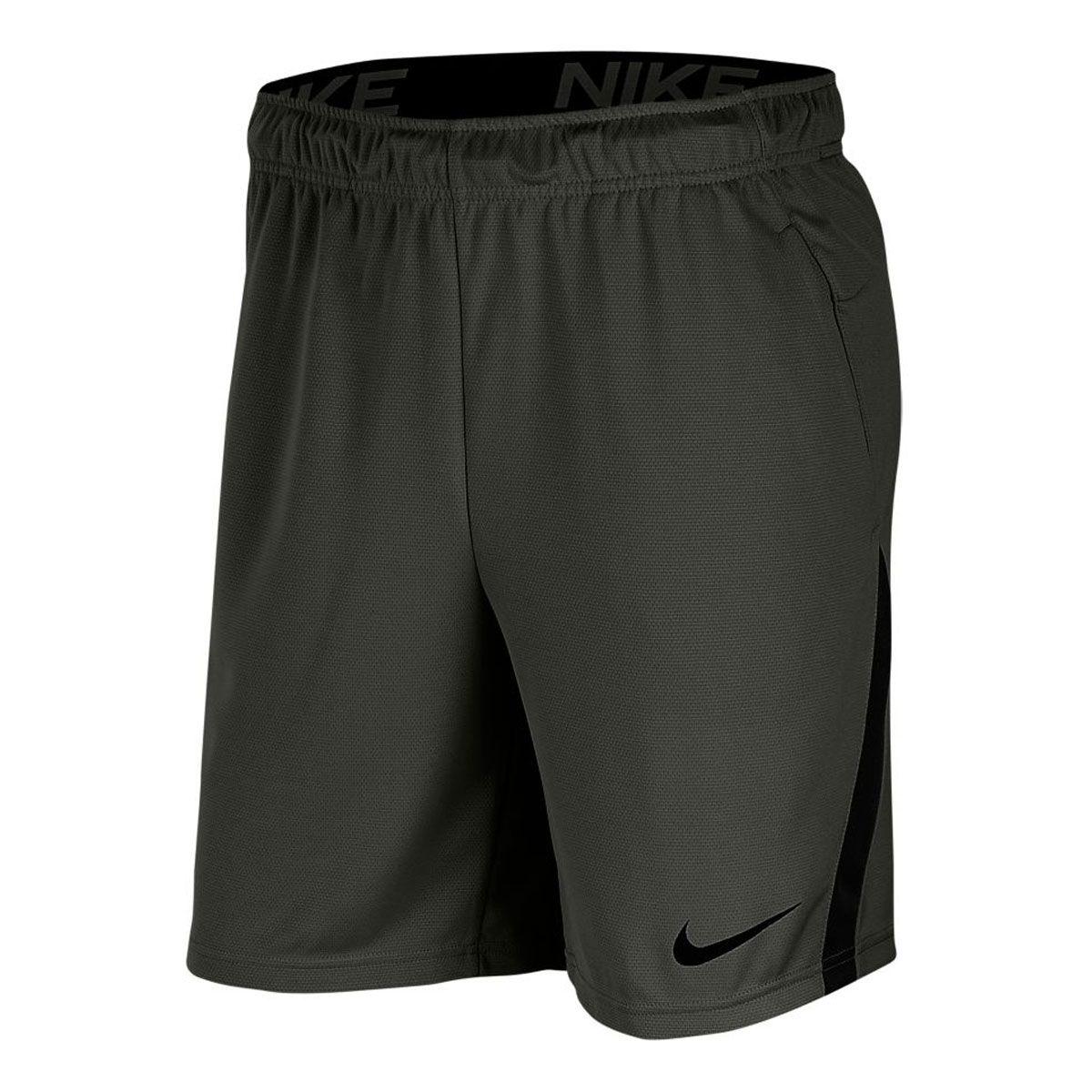 Nike Pantaloncini Short Dry 50 Uomo Grigio Scuro Nero