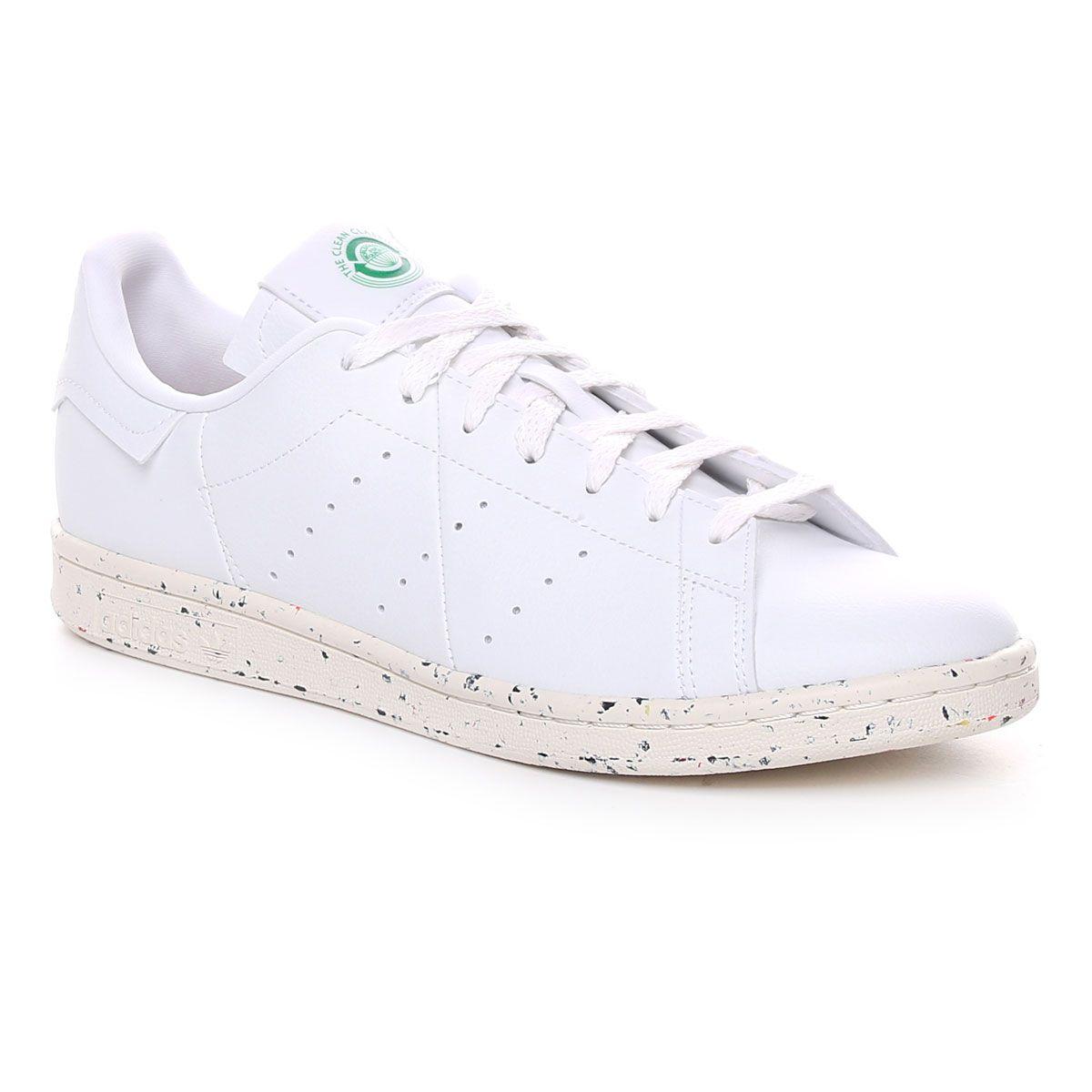 Adidas Stan Smith Vegan Bianco Verde