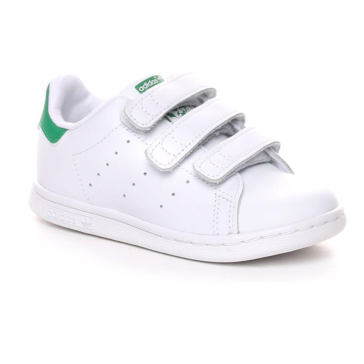adidas Stan Smith Cf Infant Bianco Verde