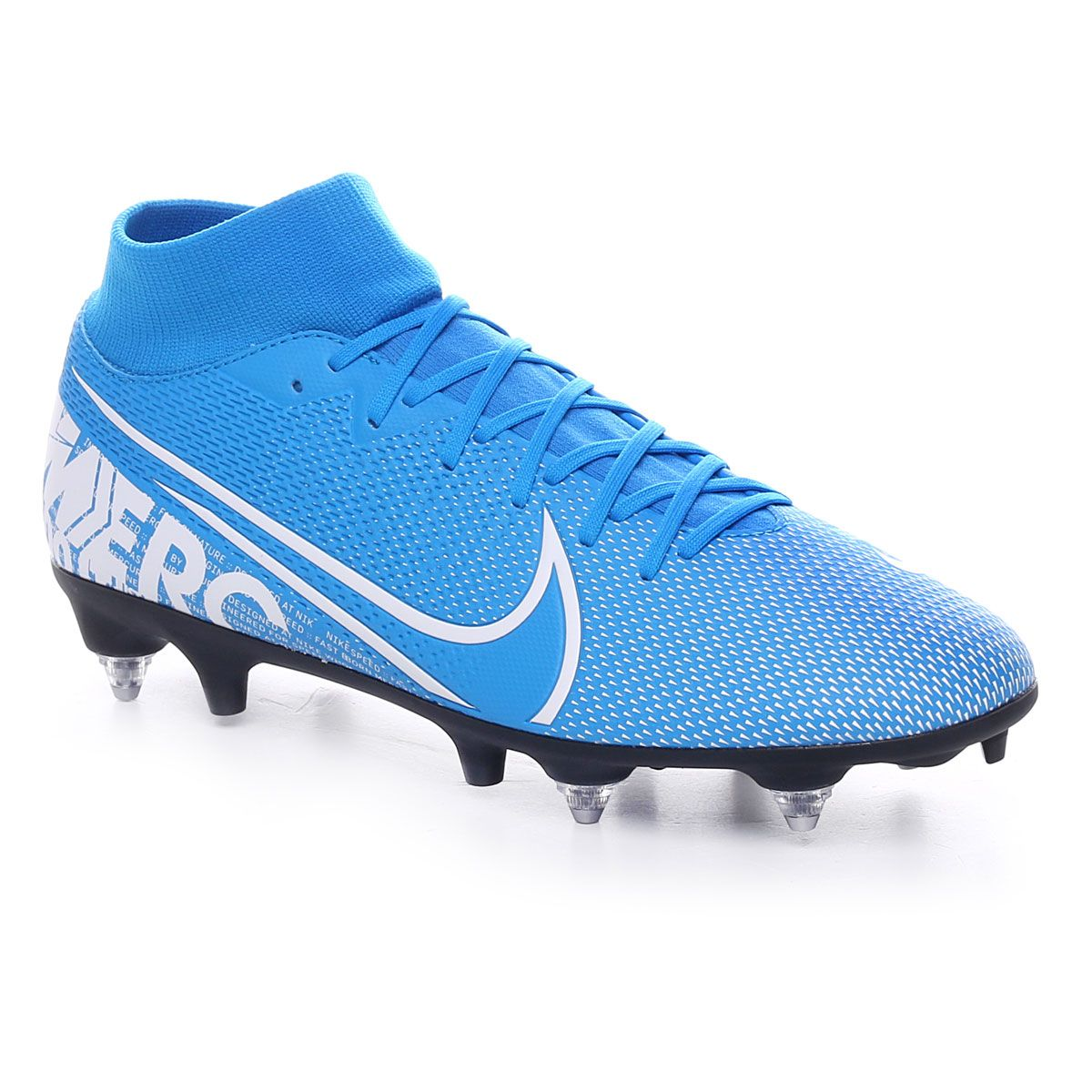 Nike Mercurial Superfly 7 Academy SG-PRO Anti-Clog Traction Blue Hero Obsidian