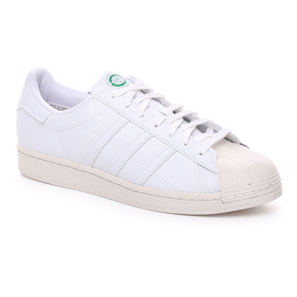 Adidas Superstar Vegan Uomo Bianco