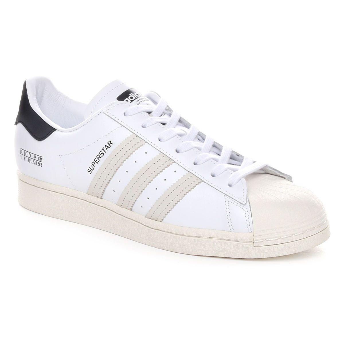 Adidas Originals Superstar Signature Uomo Bianco Nero