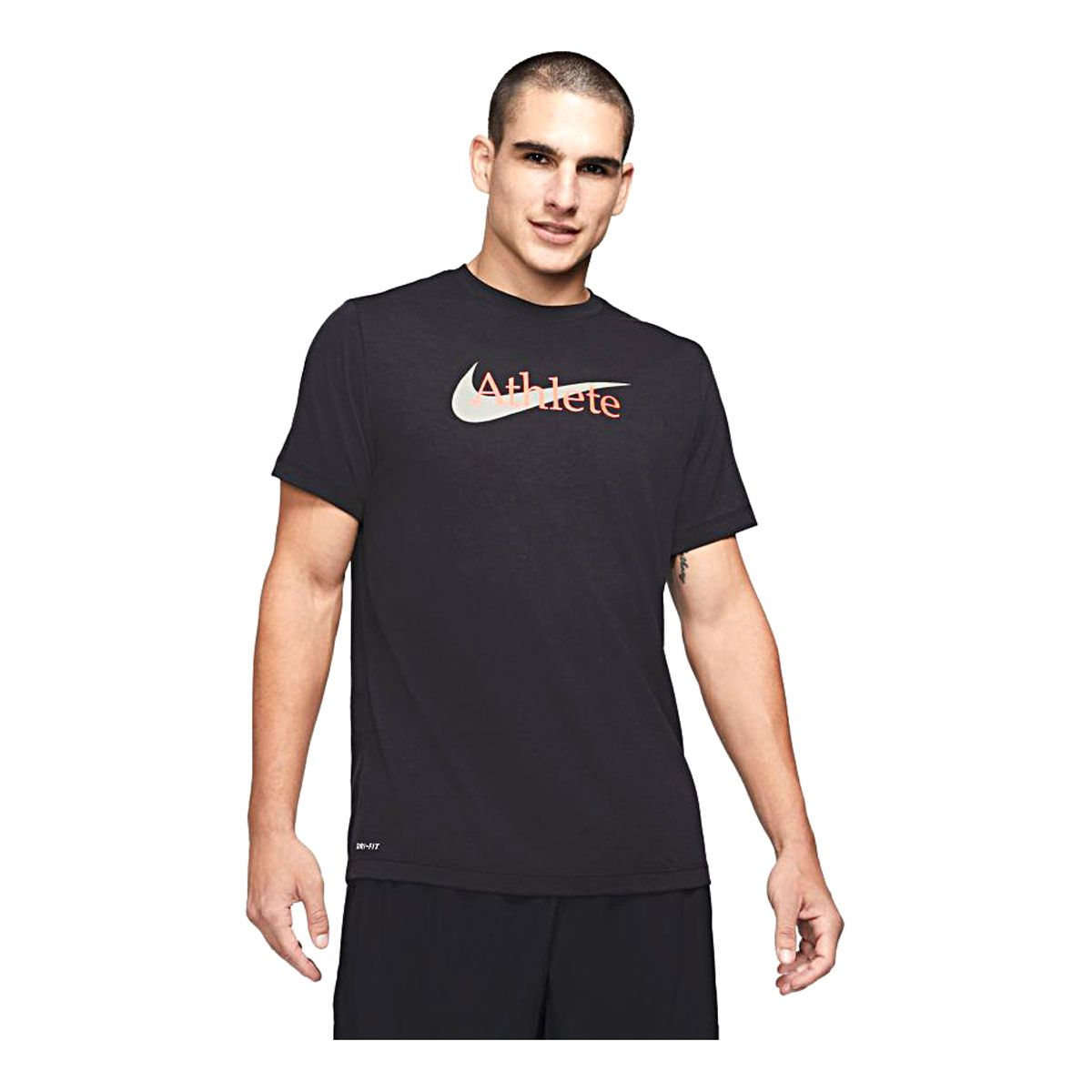 Nike T-Shirt Athlete Dry Swoosh Uomo Nero
