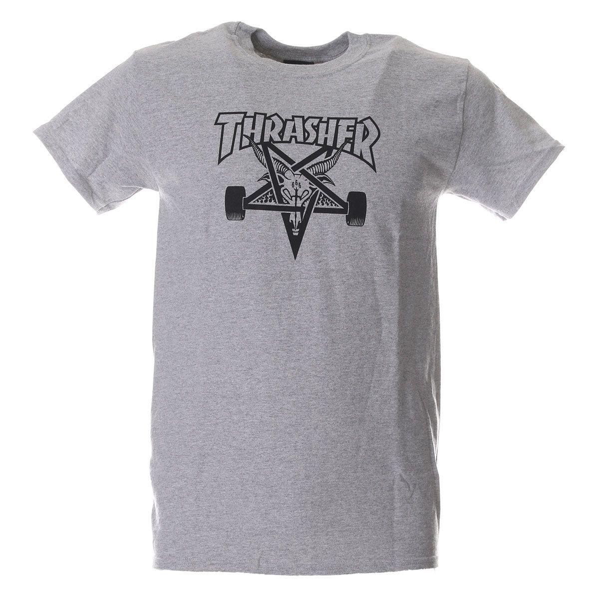 Thrasher T-Shirt Skategoat Grey