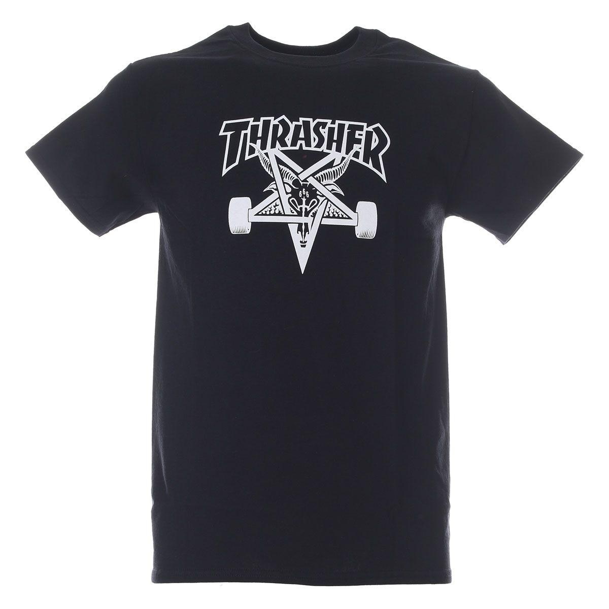 Thrasher T-Shirt Skategoat Black