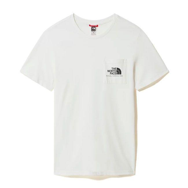 The North Face T-Shirt Berkeley California Uomo Bianco