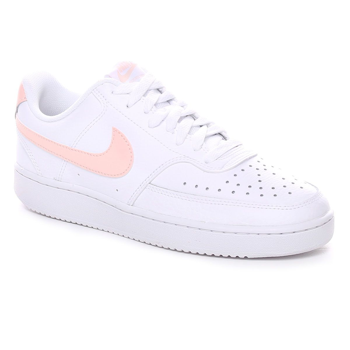 Nike Court Vision Low Donna Bianco Rosa