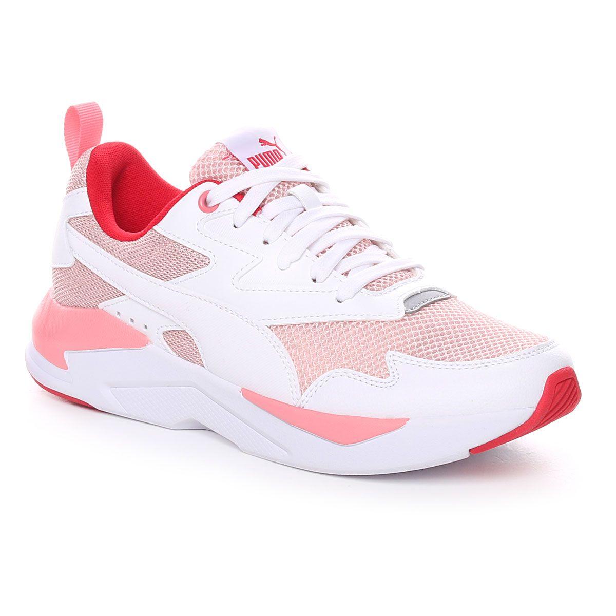 Puma X-Ray Lite Donna Bianco Rosa Rosso