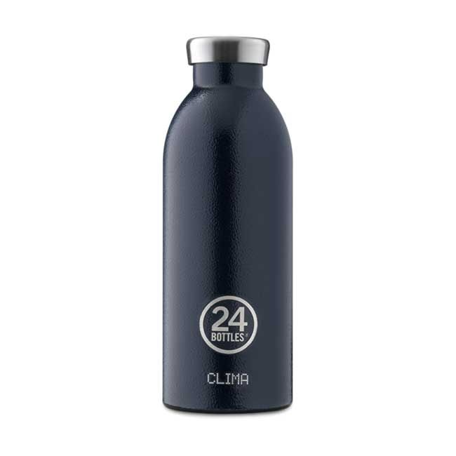 24Bottles Borraccia Clima Bottle Deep Blue 500 ml