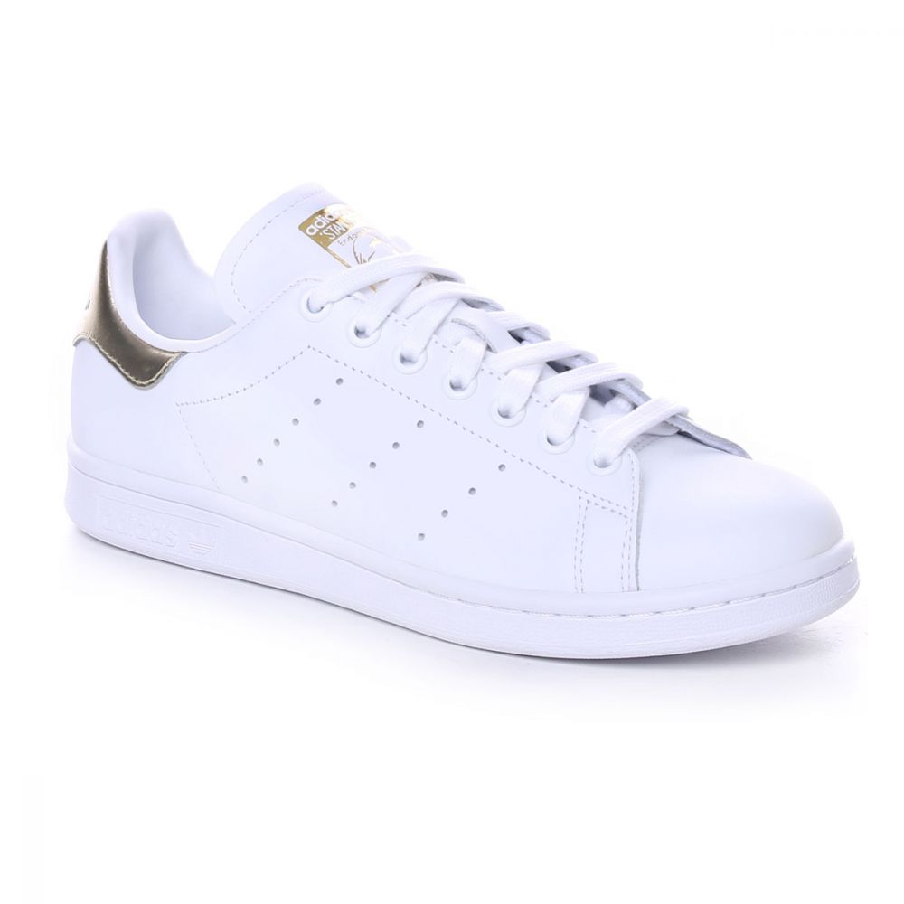 Adidas Originals Stan Smith Donna Bianco Oro