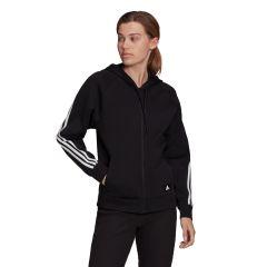 adidas Felpa Sportswear Future Icon 3-Stripe Donna Nero NonSoloSport
