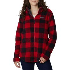 Columbia Giacca West Bend Donna Rosso Nero NonSoloSport
