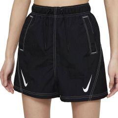 Nike Short Sportswear Swoosh Donna Nero Bianco NonSoloSport