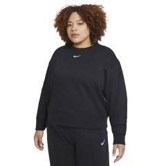 Nike Maglia Girocollo Sportswear Collection Essentials Donna Nero NonSoloSport