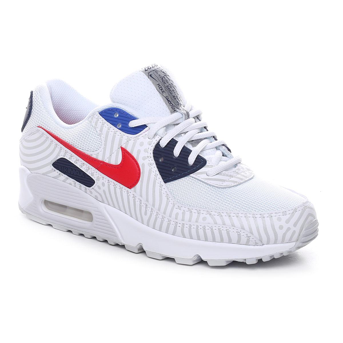 Nike Air Max 90 Uomo Bianco Grigio