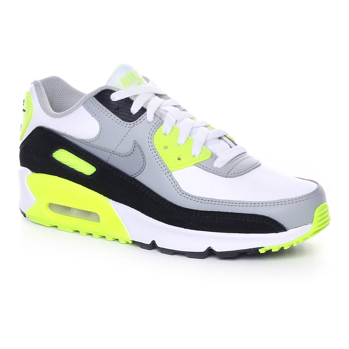 Nike Air Max 90 LTR Gs Grigio Lime