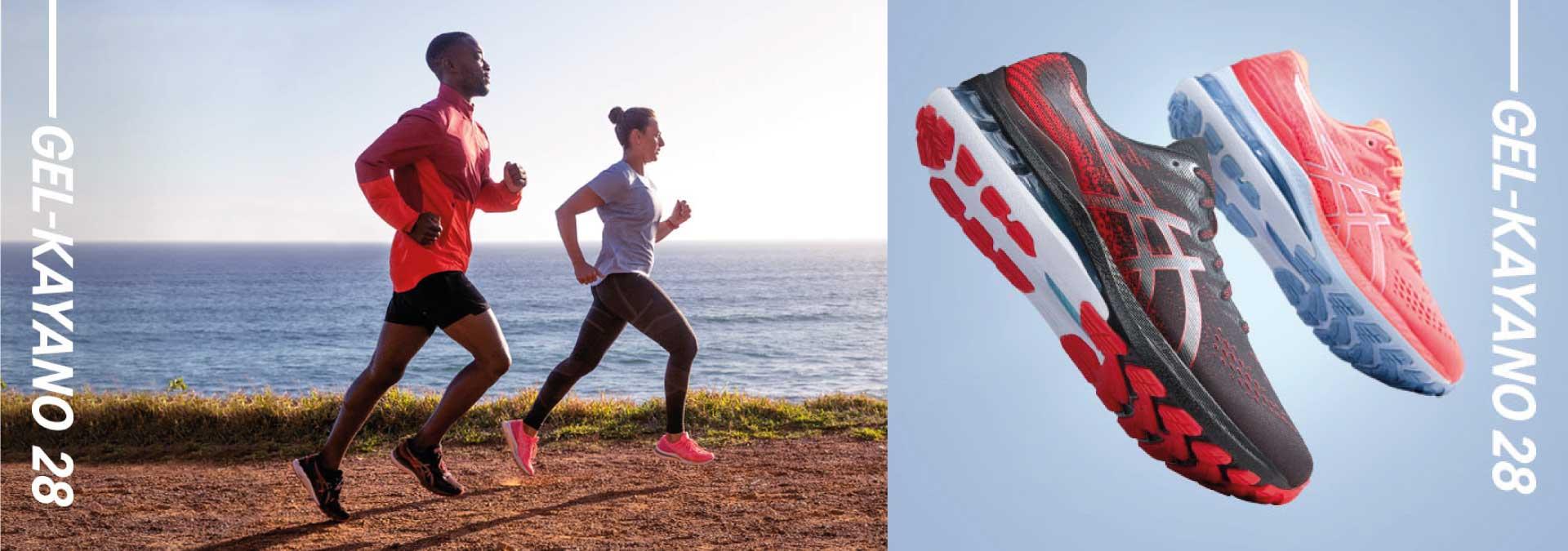 running asics gel kayano 28  sport